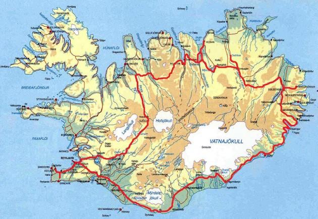 Islandzki Ring droga nr 1