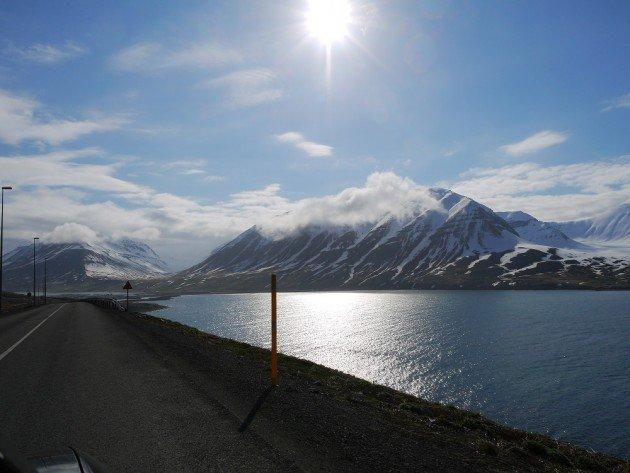 Jedna z zatok na północy fiordów