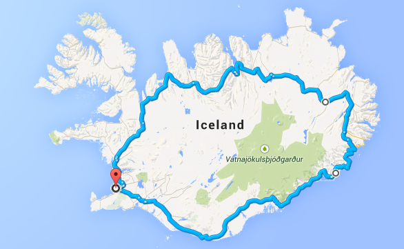 Islandzki Ring
