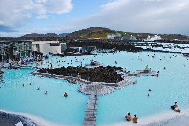Islandia termy Blue Lagoon