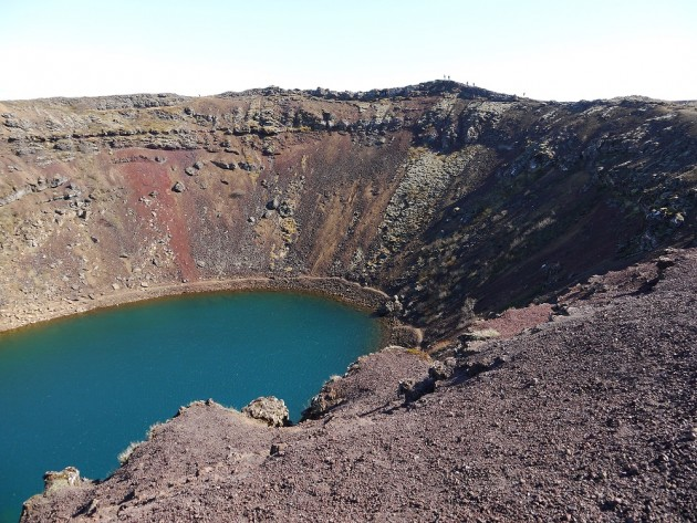 Krater po wulkaniczny