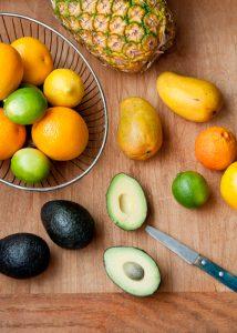 owoce dojrzewające w temperaturze pokojowej