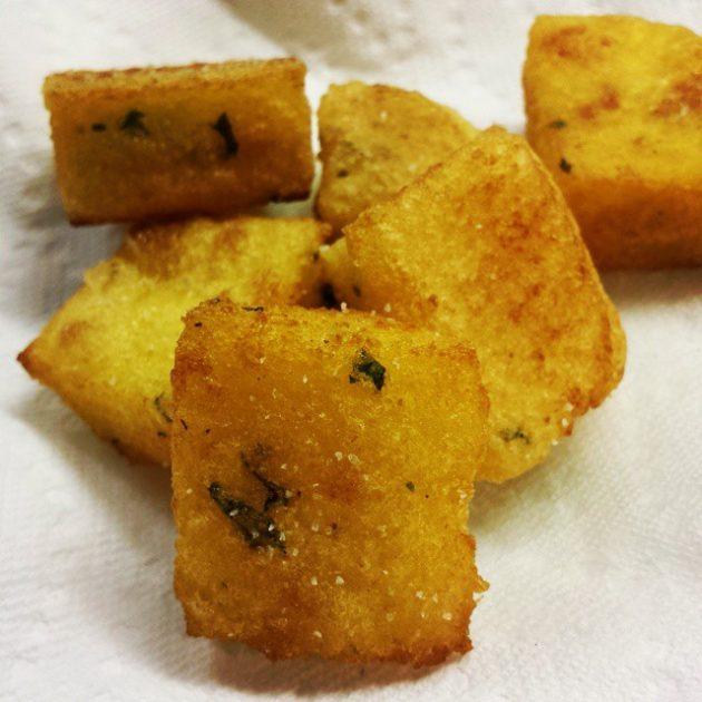 smażone milho frito