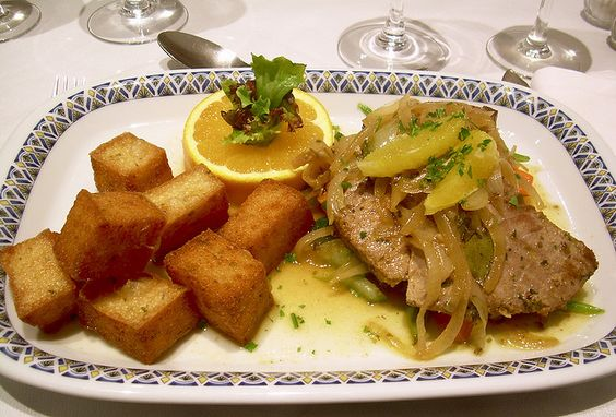 tuńczyk z milho frito