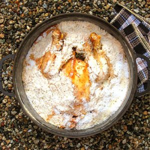 kurczak w soli