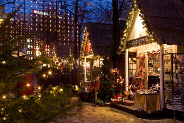 jarmark bożonarodzeniowy w kopenhadze