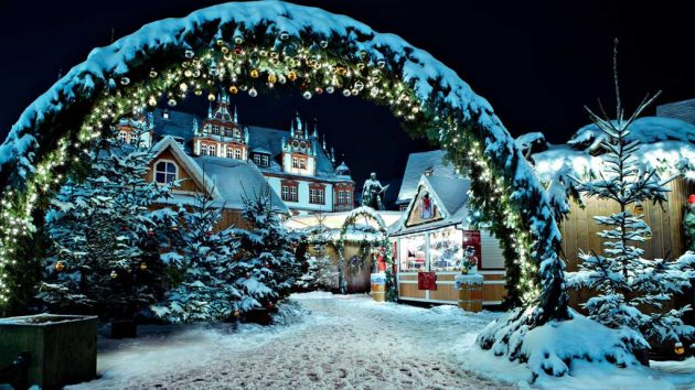 jarmark bożonarodzeniowy kopenhaga