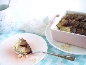 zapiekany pudding ryżowy
